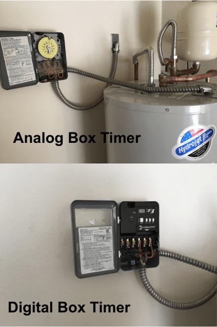 Analog Box Timer/ Digital Box Timer