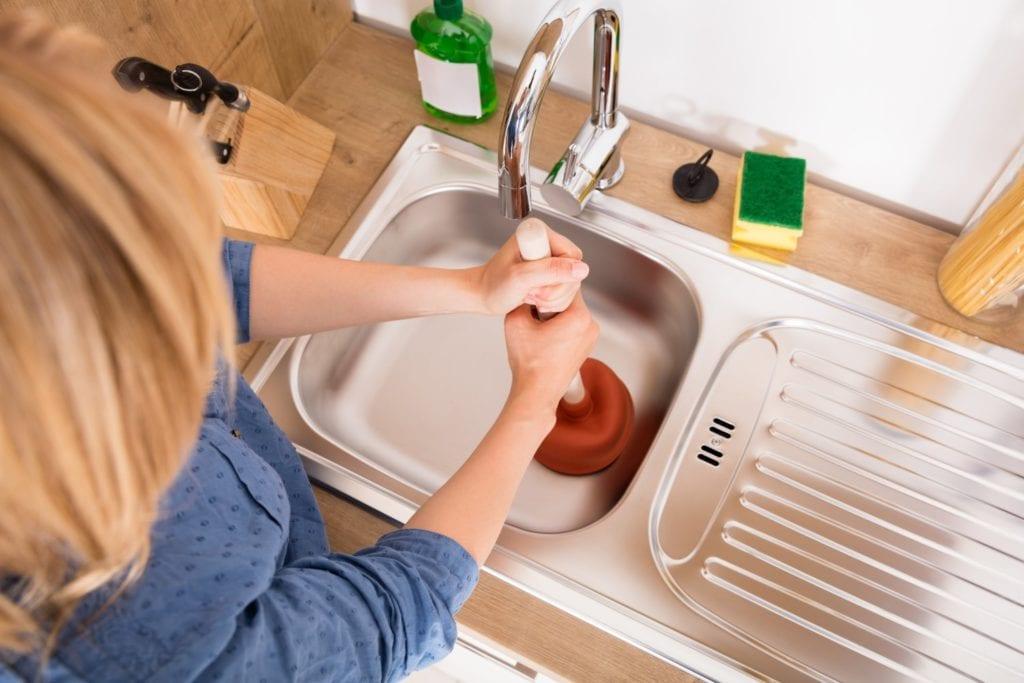 Woman Plumbing